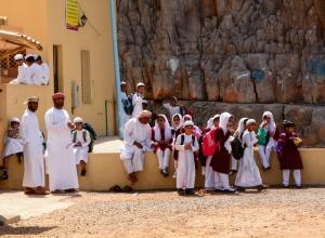 School day in Kumzar