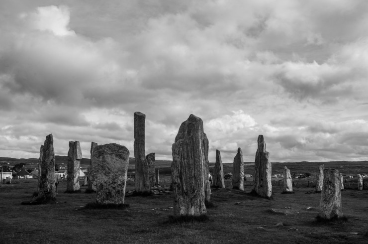 The Callanish stone circles from the late Neolithic era continue to puzzle the questioning visitor, but for the island residents, it is now also the starting point of a popular summer marathon.