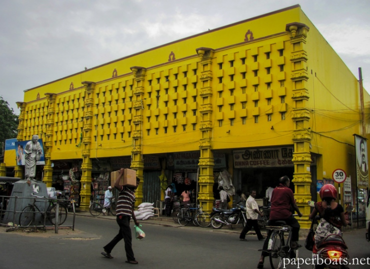 Jaffna market, back in action since the reopening of the A9 highway that connects the district to the rest of the country.