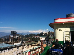 View from the rooftop of Keventer's, where I had a delicious morning fill of bacon, hot chocolate and a warm warm sun.