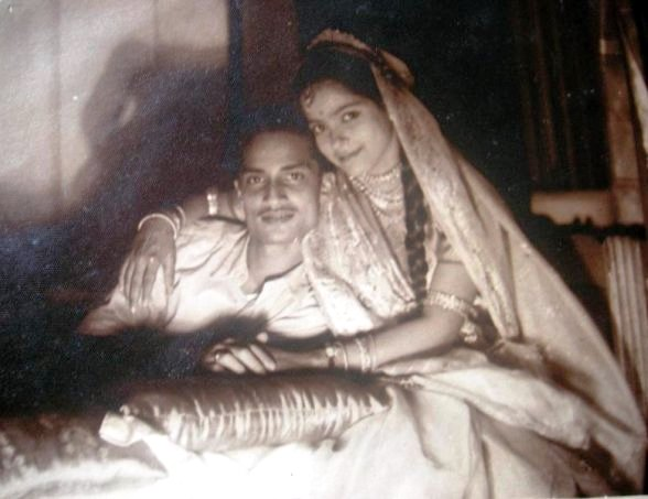 My grandparents on their wedding night.